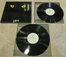 """Cats """"Complete Original Broadway Cast Recordings"""" 2 LP Geffen *VG+* Inner Sleeve"""