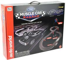 Auto World / VRC Hobbies Muscle Car Mayhem HO Scale Slot Car Race Set CP7605