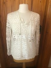 River Island Lace Top Size 14