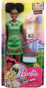 Barbie Dreamhouse Adventures Nikki Travel Doll GBH92 New Boxed Uk Seller Read 👇