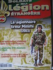 FASCICULE 48 LEGION ETRANGERE LEGIONNAIRE TIREUR MINIMI 2003