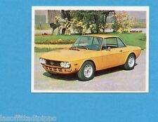 AUTO FLASH-COX anni '70-Figurina n.132- LANCIA FULVIA COUPE' -NEW