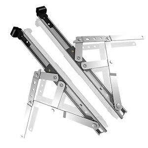 Window Hinges Friction Stays Replacement Pair for UPVC PVC Double Glazing