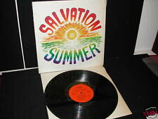 SALVATION SUMMER  POVERTY LP  '75 SHRINK VG++ PSYCH MEGARARE PRIVATE PRESSING!