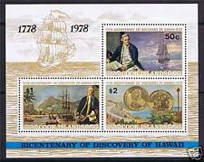 Cook Is 1978 Discovery of Hawaii MS SG587 MNH
