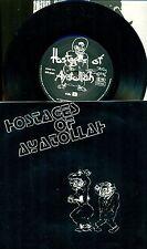"HOSTAGES OF AYATOLLAH EP BONZEN RECORDS 7"" SINGLE (E438)"