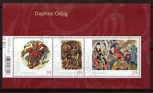 Kanada 2011 Daphne Odjig Kunst Miniatur Blatt Fein Gebraucht