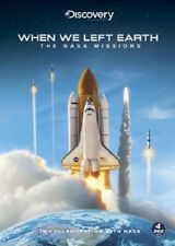 When We Left Earth - The Nasa Missions (DVD, 2008, 4-Disc Set) - NEW!!