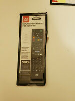 One For All TV Replacement Remote for All Sony Televisions LED, LCD, Plasma