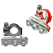 New listing 2x Battery Terminal Heavy Duty Car Vehicle Quick Connector Cable Clamp Clip*