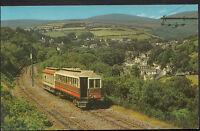 Railway Transport Postcard - Laxey Valley and Snaefell Train, Isle of Man  7479