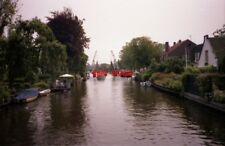 PHOTO  NETHERLANDS ON RIVER VECHT 1991 VIEWS ON THE RIVER v3