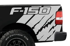 Vinyl Graphics Decal Wrap for Ford Truck F-150 2004-08 F150 QUARTER Matte White