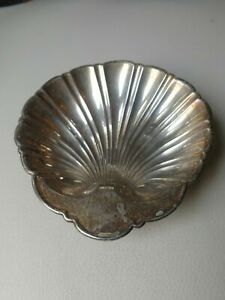 VTG GORHAM Sterling Silver 925S Footed Shell Dish #10 88g