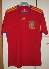 Spain 2010-2011 World Cup Home football shirt jersey Adidas size M