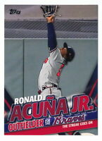 RONALD ACUNA JR. 2020 TOPPS UPDATE TARGET EXCLUSIVE HIGHLIGHTS #TRA-15 BRAVES
