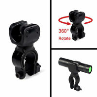 Cycling Bike Bicycle Clip Front Lamp Flashlight 360° Rotation Mount Holder Clip