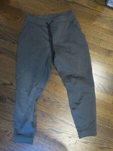 Lululemon Mens Fleece Jogger Sweatpants sz Large Gray Excellent Condition