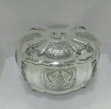 NEW Solid Silver Sterling 925 Etrog Esrog/jewellery  Box  Sukkot Sukkah Judaica