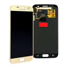 DISPLAY S7 LCD TOUCH SCREEN SM-G930 SAMSUNG ORIGINALE GOLD SCHERMO VETRO SCHERMO