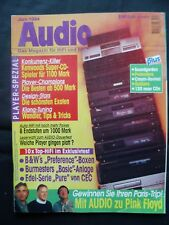 Audio 6/94, Arcam Alpha 5 CD, Aura CD 50, Linn expressions, Burmester 935,933,cec pur Amp
