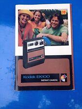 original Kodak Bedienungsanleitung Manual für EK100 deutsch+multilingual