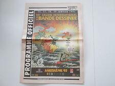 JOURNAL QUOTIDIENS DE CHARENTE 1995 SPECIAL ANGOULEME  TBE MANDRYKA