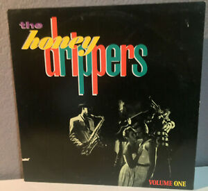 """THE HONEYDRIPPERS - Volume 1 - 12"""" Vinyl Record LP - EX (Plant, Page, Beck, etc)"""
