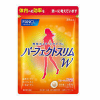 FANCL Perfect Slim W Diet Supplement Calories Fat Burner 30 days 180 tablets