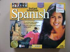 Instant Immersion Spanish (4 Cd set)