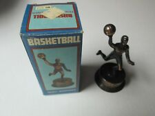 Old Fashioned Metal Pencil Sharpener BASKETBALL PLAYER w/ Box #322