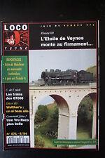 MODELISME FERROVIAIRE TRAIN MAGAZINE LOCO REVUE N° 571 de 1994