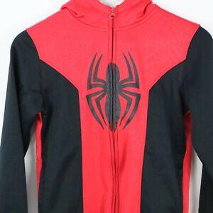 105cm~115cm Iron Spider-Xsmall MODRYER Unisex Kids Hoodie Sweatshirt Spiderman Miles Morales Ch/ándal de Morales con Cremallera Abrigo Impreso 3D para el Carnaval de Halloween Regalo de Cumplea/ños