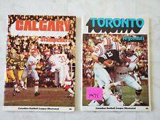 17 Various CFL Programs 1971 to 1996