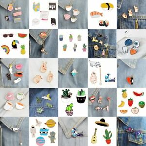 Charm Cartoon Fruit Enamel Collar Pin Corsage Brooch Breastpin Badge Jewelry New