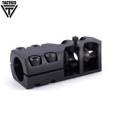 .308/8mm Steel Clamp-on Muzzle Brake Compensator Fits 19.8-20.2mm With Wrench