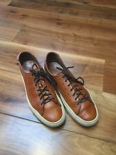 BUTTERO Mande In Italy Men's Tan Leather Trainers UK-11