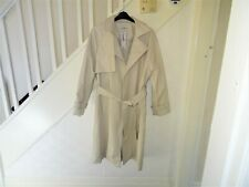 George ladies coat size 20 wrap over mac cream new with tags RRP £40