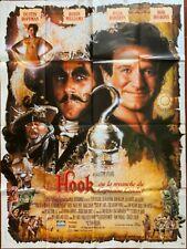 Affiche cinéma Hook Dustin Hoffman (1991)