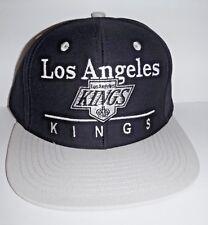 Los Angeles LA Kings Authentic Black / Grey Snapback NWT Hat Zephyr Cap