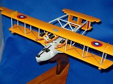 "CURTISS NC-4. US NAVY seaplane 1919 ""First Across"" Mahogany Desktop Model"