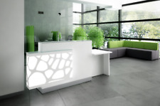 """Organic 95"""" Reception Desk with Counter Top"""