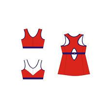 Bra Making Supplies Pin-Up Girls: Kerri No-bounce Sport Bra & Top Sewing Pattern