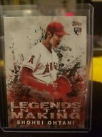 SHOHEI OHTANI 2018 LEGENDS IN THE MAKING ROOKIE CARD #LITM-21 MINT!