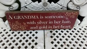A Grandma Is Someone With Silver In Her Hair and Gold in Her Heart Christmas