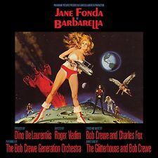 BARBARELLA Bob Crewe Charles Fox VARESE SARABANDE Soundtrack Score CD Ltd Ed NEW