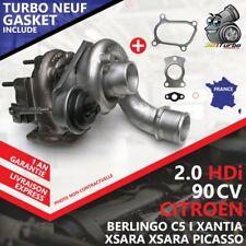 Turbo NEUF IHI F400002 VVP1 RHF4VVP1 172-02715 9645247080 3750 0375H8 0375F1