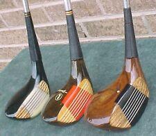 Spalding Bird & Ball Mixed Model Wood Set Golf Clubs Driver 3 4 New Widow Grips