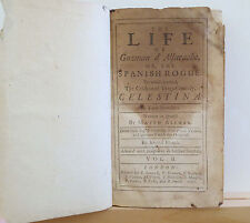 The Life of Guzman d'Alfarache, or, The Spanish Rogue Vol II 1707 Mateo Aleman