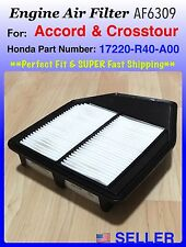 ENGINE AIR FILTER For Honda Accord  4CYL 2.4L 2008-2012 AF6309 Fast ship!!!